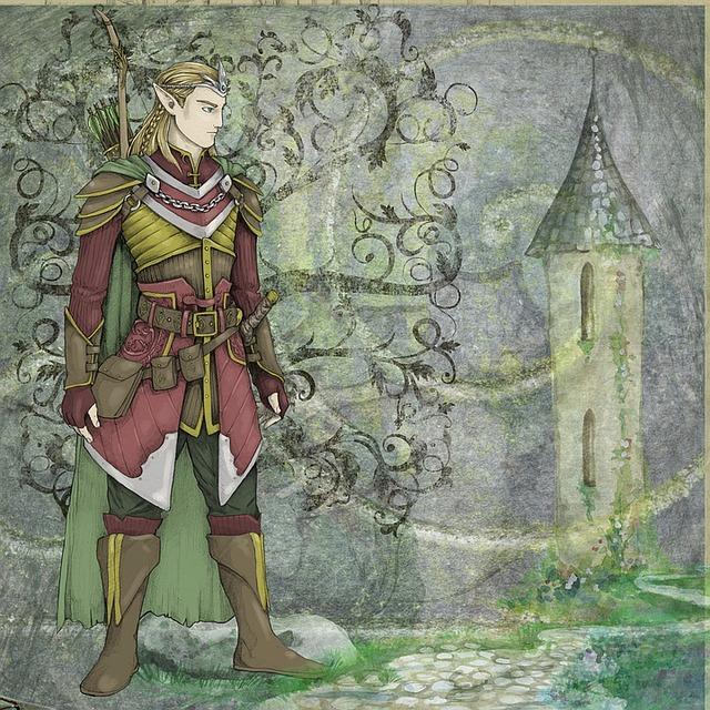 imagen de joven elfo